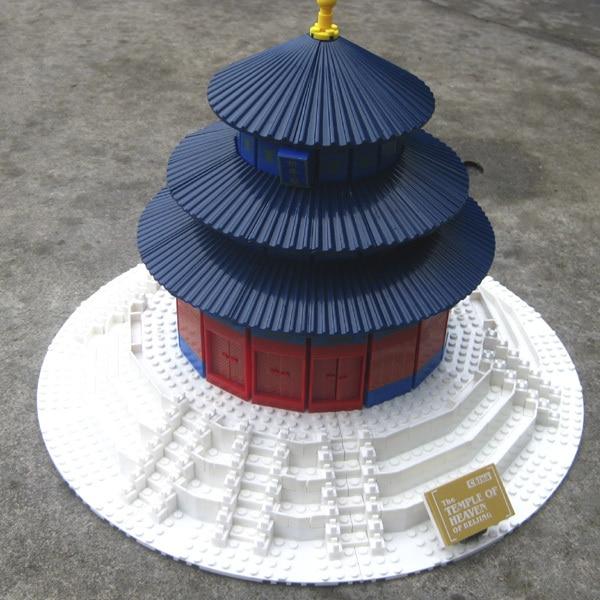 Homemade Temple Block ~ Free shipping pcs large diy bricks blocks