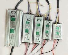 O motorista impermeável exterior do projetor do diodo emissor de luz 10 w 20 w 30 w 50 w 100 w dc 30 v-36 v conduziu o transformador de iluminação do adaptador da fonte de alimentação ip65