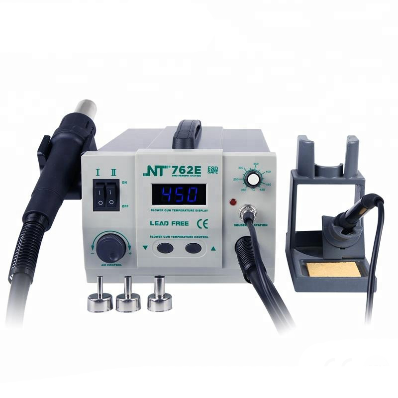 Kaisi  2 In 1 Lead Free  BGA Soldering Station  Hot Air Gun  SMD Rework Station For Phone Computer Motherboard IC Chips Repair