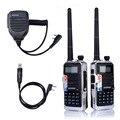 2 ШТ. 2016 Последние BAOFENG FF-12P VHF/UHF Dual Band Dual Watch 136-174/400-520 МГц CTCSS DCS 5 Вт 128CH VOX FM Ветчиной Двухстороннее радио