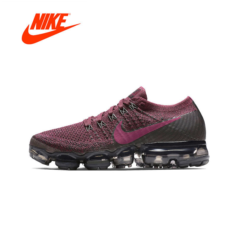Nike Women's Air VaporMax Flyknit Original New Arrival Authentic Running Shoes Sports Sneakers Outdoor цена