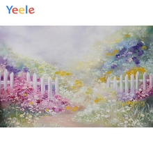 Yeele Vinyl Photography Backdrops Flowers Spring Bokeh Photographic Background Baby Shower Decoration Photocall Props