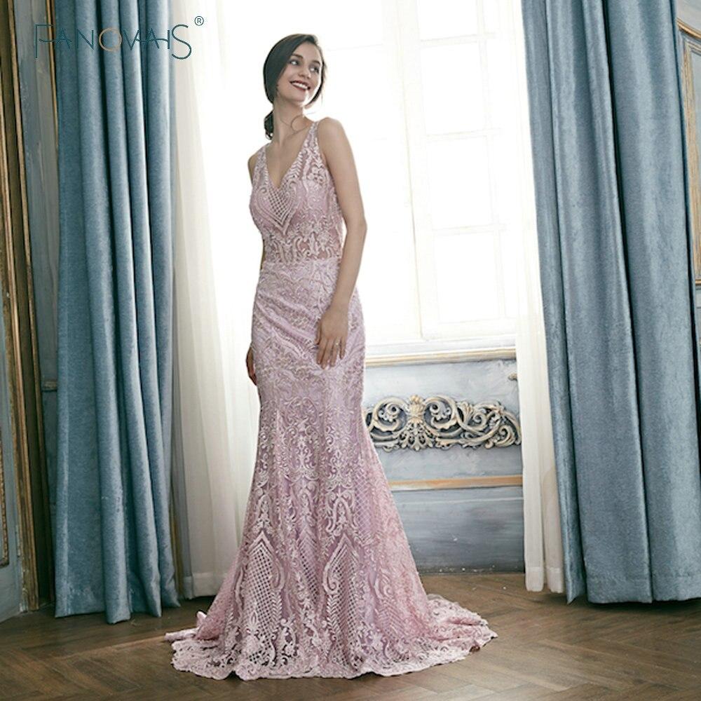 Light Purple   Evening     Dresses   2019 Lace   Evening   Gowns with Detachable Train Vestiso De Festa Robe De Soiree Abendkleider Kaftan