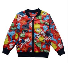 Casual fashion style Jackets for Boys Girls Kids Fashion Cartoon Jackets for Children Jacket Kid Girls Outerwear Coat