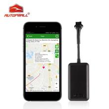 Mini GPS Tracker Car Waterproof IP66 Locator Auto TK108 Cut Off Oil Power Vehicular Overspeed Vibration Alarm
