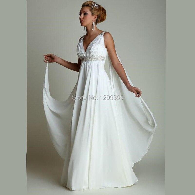 Abiti da sposa greek wedding dress suitable for pregnant for Dresses suitable for a wedding
