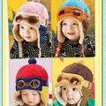 Горячие Продажа Малыши Теплый Cap Hat Шапочка Прохладный Baby Boy Девушка Дети Младенческой Зима Пилот Cap Бесплатная Доставка
