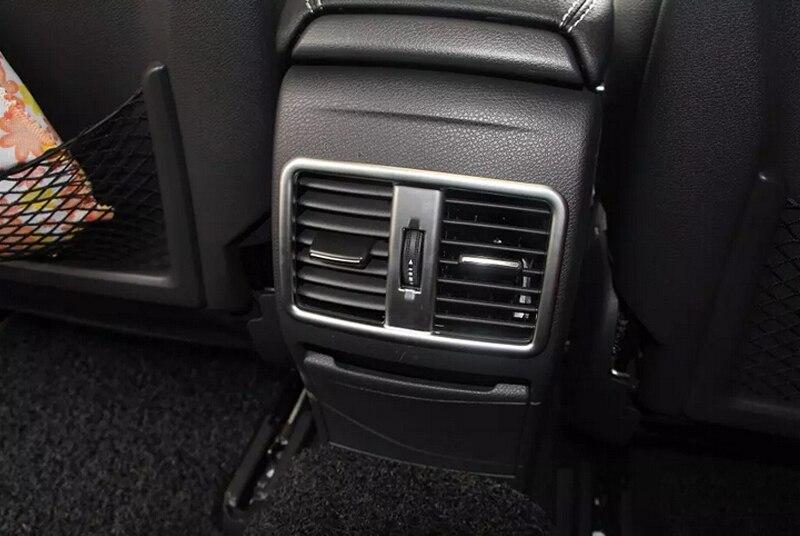 1pcs Rear armrest box decoration cover trim For Mercedes Benz GLA X156 2014 2015