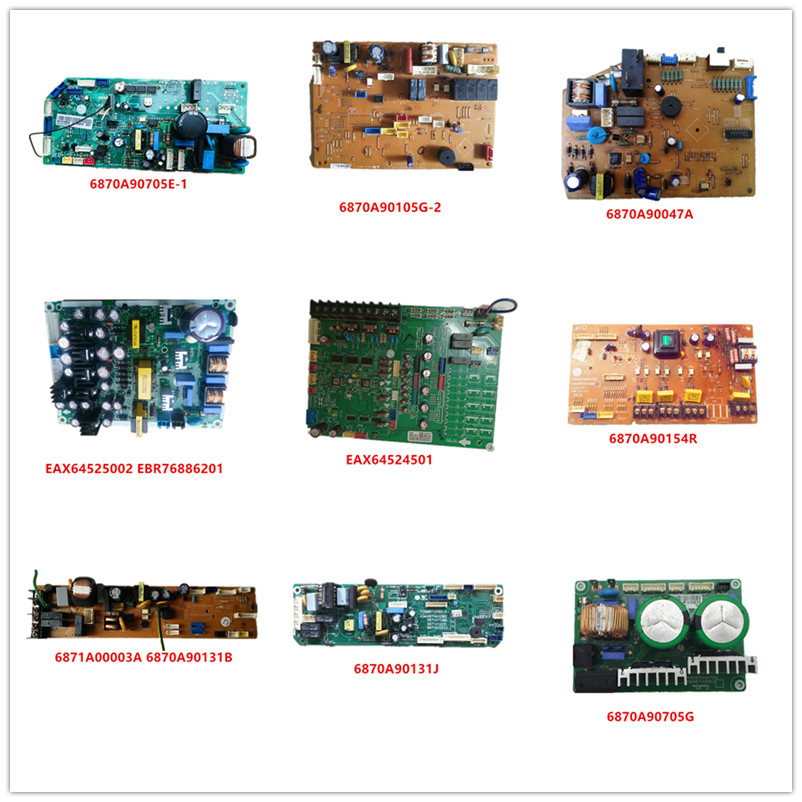 6870A90705E-1/ 6870A90105G-2/ 6870A90047A/ EAX64525002/ EAX64524501/ 6870A90154R/ 6871A00003A/  6870A90131J/ 6870A9070 Used Work