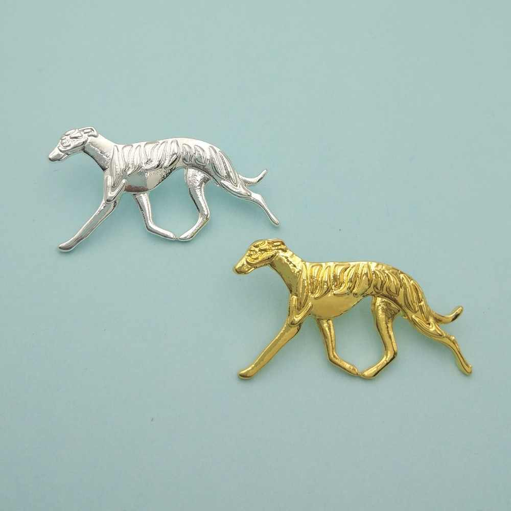 fashion Whippet dog Broches and pins cute Lapel  Pins animal Jewelery Clothing Accessories Men's badge Gift dropship