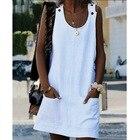 Sleeveless Cotton Li...