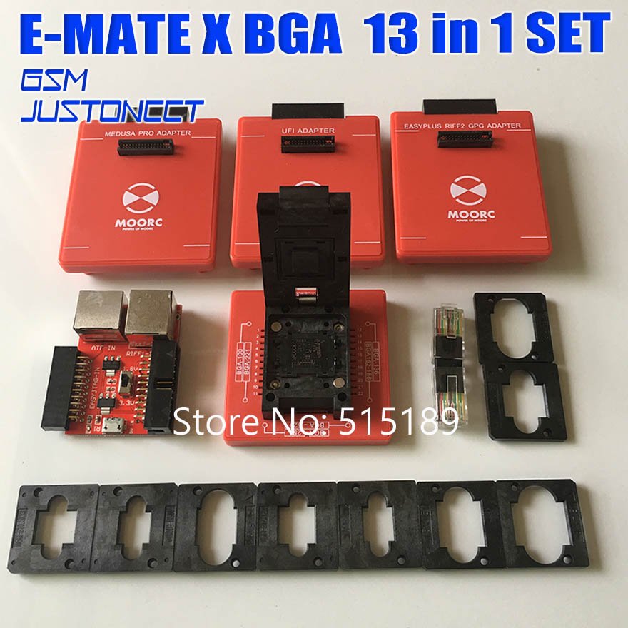 Style; In 2019 Newest Version 100% Original Jtag Isp Adapter All In 1 For Riff Easy Jtag Sam Easy Jtag Medusa Emmc E-mate Box Atf Box Free Fashionable