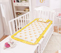 10 Color Summer New Cartoon Printed Baby Mattress Pillow Sets Bamboo FiberSilk Ice Infant Badding 1pcs