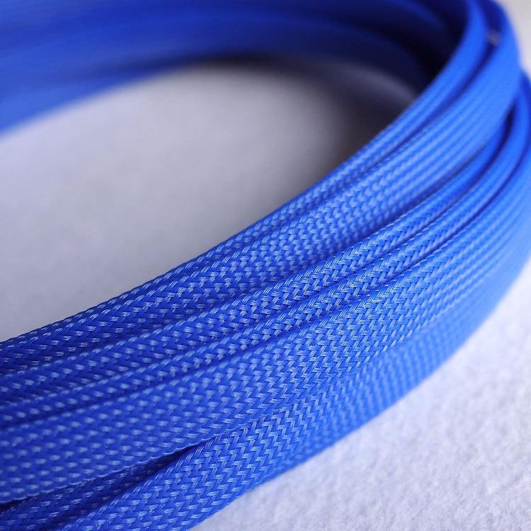 1 mt 10mm Schwarz Nylon Geflochtene Kabel Sleeving Abschirmung ...