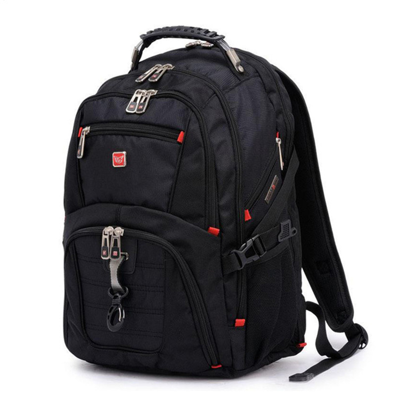 Just Follow Hot Sale 15Inch Backpacks Male Bag Men and Women Laptop Backpack Luggage & Men's Travel Bags Mochila Masculina  green waterproof backpacks travel bag 11 15 6 inch notebook laptop backpack men travel bags women male mochila escolar rucksack