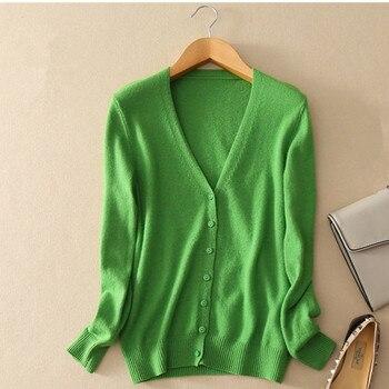 Women Sweater 2018 New Autumn Knit Cardigan Coat Thin Tops Slim Large Size Casual Long Sleeve Short Sweater Women clothing AA210