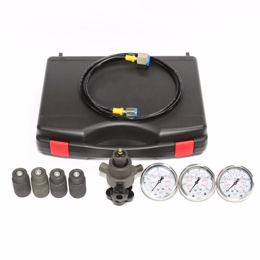 XZTGK-01 Hydraulic Accumulator Nitrogen charging Filling and Pressure Test Kit