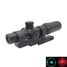 Тактический Оптический прицел зеленый красный прибор ночного видения для освещения Охота прицел снайперской винтовки Airsoft пневматические пистолеты для Аксессуары для Игрушечного Пистолета
