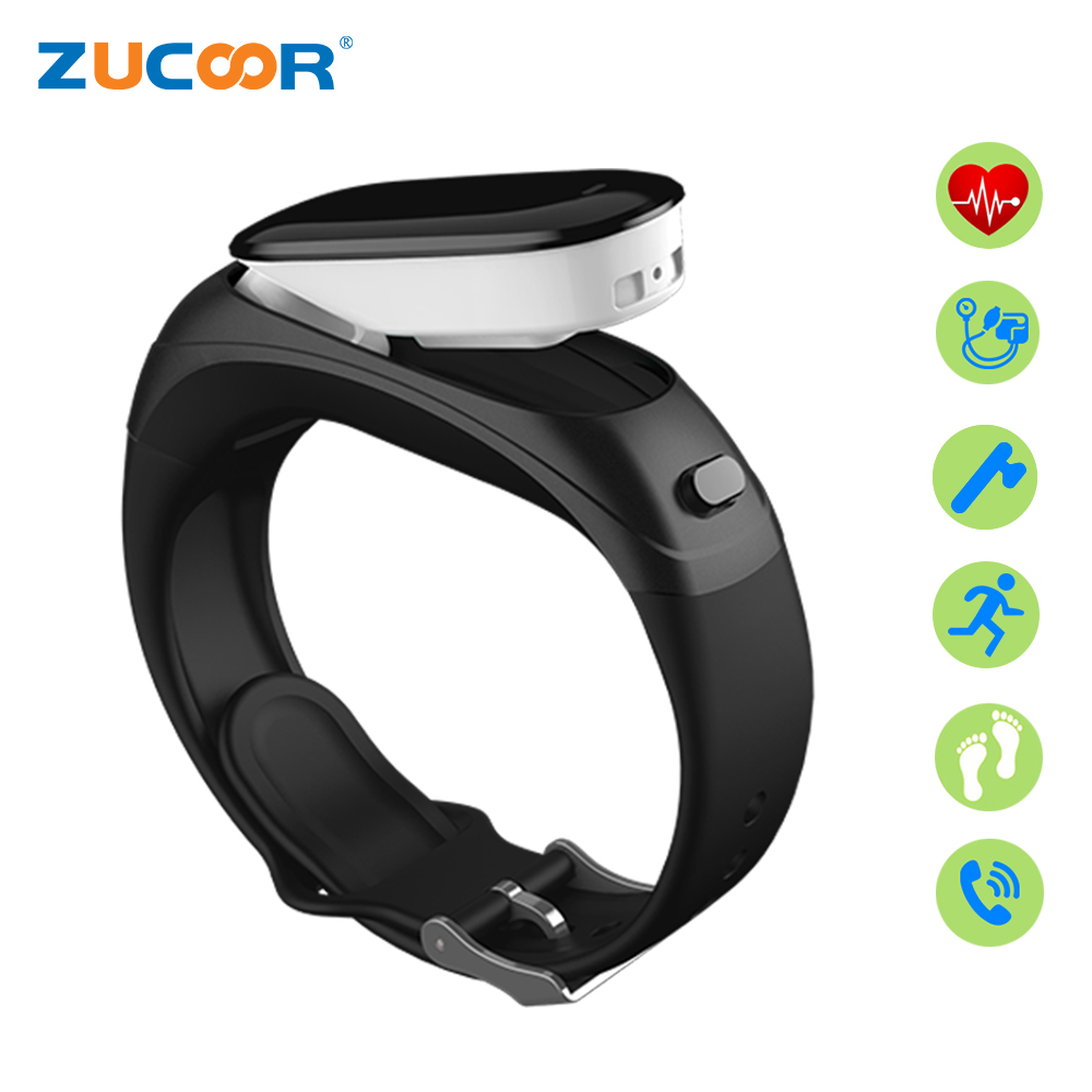 ZUCOOR Smart Bracelet Bluetooth Headset Blood Pressure Pulse Monitor Wristband Fitness Tracker Bracelets Band Sport Pedometer smart band bracelet health wristband s3 pedometer blood pressure wearable devices pulse monitor electronics bracelets for men