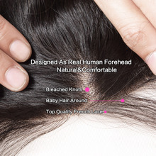 Straight Hair 100% Hair Closure