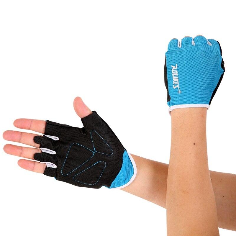 Женские/мужские перчатки для тренировок, тренажерного зала, бодибилдинга, спорта, фитнеса, перчатки для занятий тяжелой атлетикой, мужские перчатки для женщин S/M/L - Цвет: L