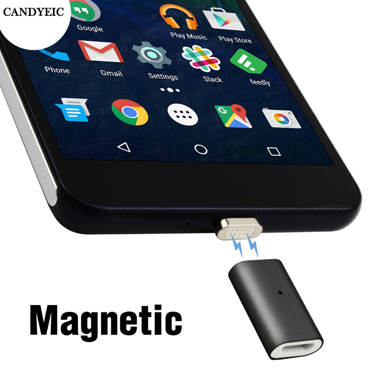CANDYEIC Android Magnetic Adapter For <font><b>Honor</b></font> 8X Max 10 <font><b>Lite</b></font> 20i 9i <font><b>9</b></font> <font><b>Lite</b></font> 8 <font><b>Lite</b></font> V9 Play 5C 5A 5X 6A 6X 7A Magnet Charger Adapter image