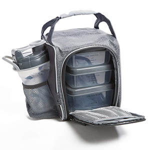Lunch-Bags Food-Cooler-Bag Bento Fitness Tote Insulation Portable Fold Gym Casual Thicker