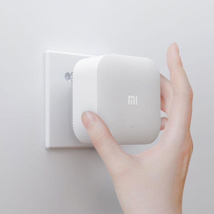 Original Xiao mi puissance électrique chat Wifi répéteur 2.4G 300Mbps sans fil gamme Extender routeur Point d'accès mi Signal amplificateur - 2