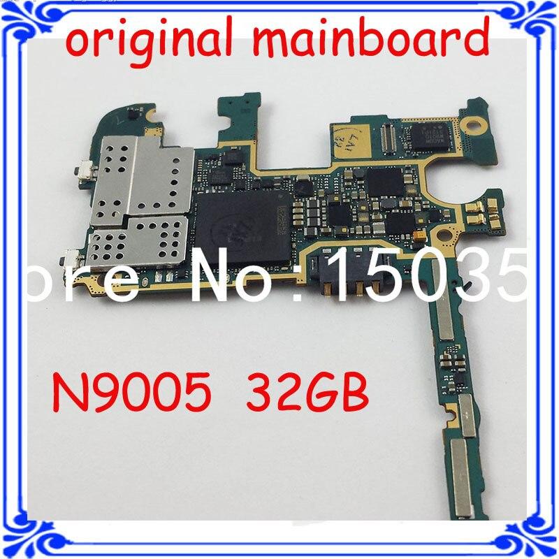 imágenes para LTE 4G placa base placa base de la versión Europea del 32 GB original Placa Lógica placa madre para samsung n9005 Nota 3 desbloqueado