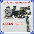Lte 4g placa base placa base de la versión europea del 32 gb original placa lógica placa madre para samsung note 3 n9005 desbloqueado