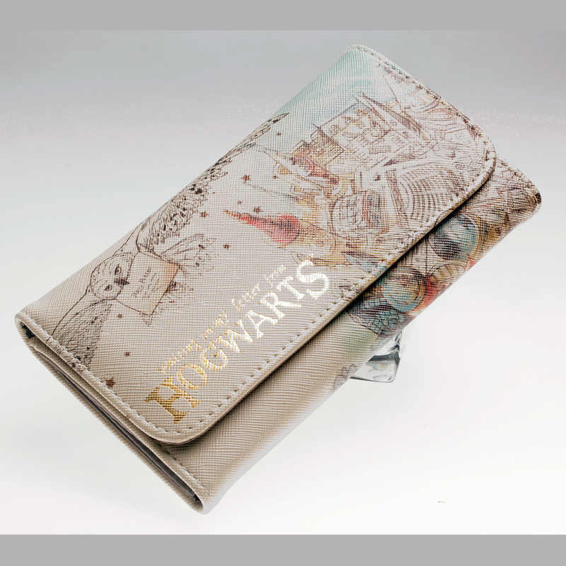 Watercolor carteira feminina bolsas de moda moeda bolsa titular do cartão carteiras do sexo feminino de alta qualidade saco dinheiro embreagem couro do plutônio carteira