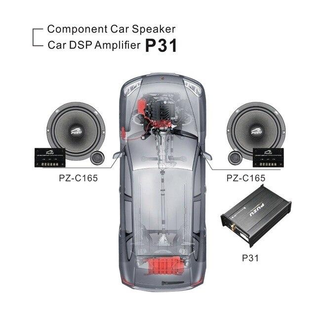 Car Front Door Car Audio Upgrade System Car Amplifier Car Dsp Audio