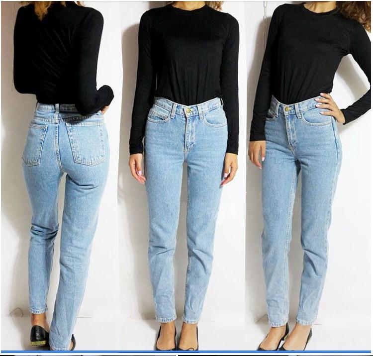 2018 Fashion Women Vintage American Brand Boyfriend Jeans -8868