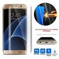 Закаленное Стекло 3D Изогнутые Премиум Полное Покрытие Экрана Протектор Фильм Для Samsung Galaxy S7 Edge S6 Edge Plus