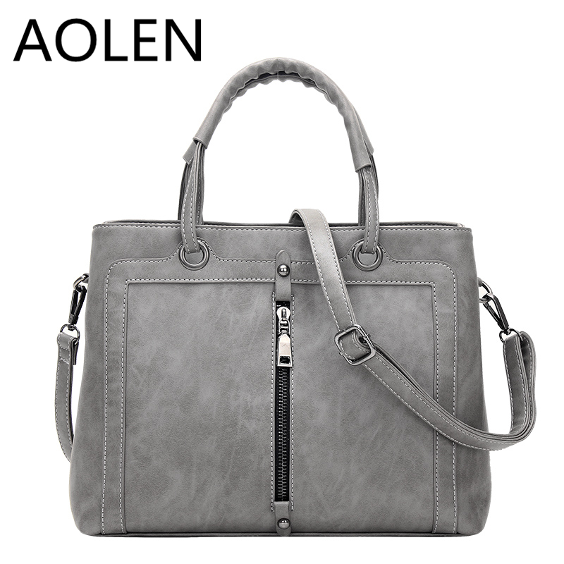 Aolen Women Bags 2017 Handbag Set Leather Woman Big Genuine 2016 Fashion Handbags Clutch For Designer High Quality Bag Famous