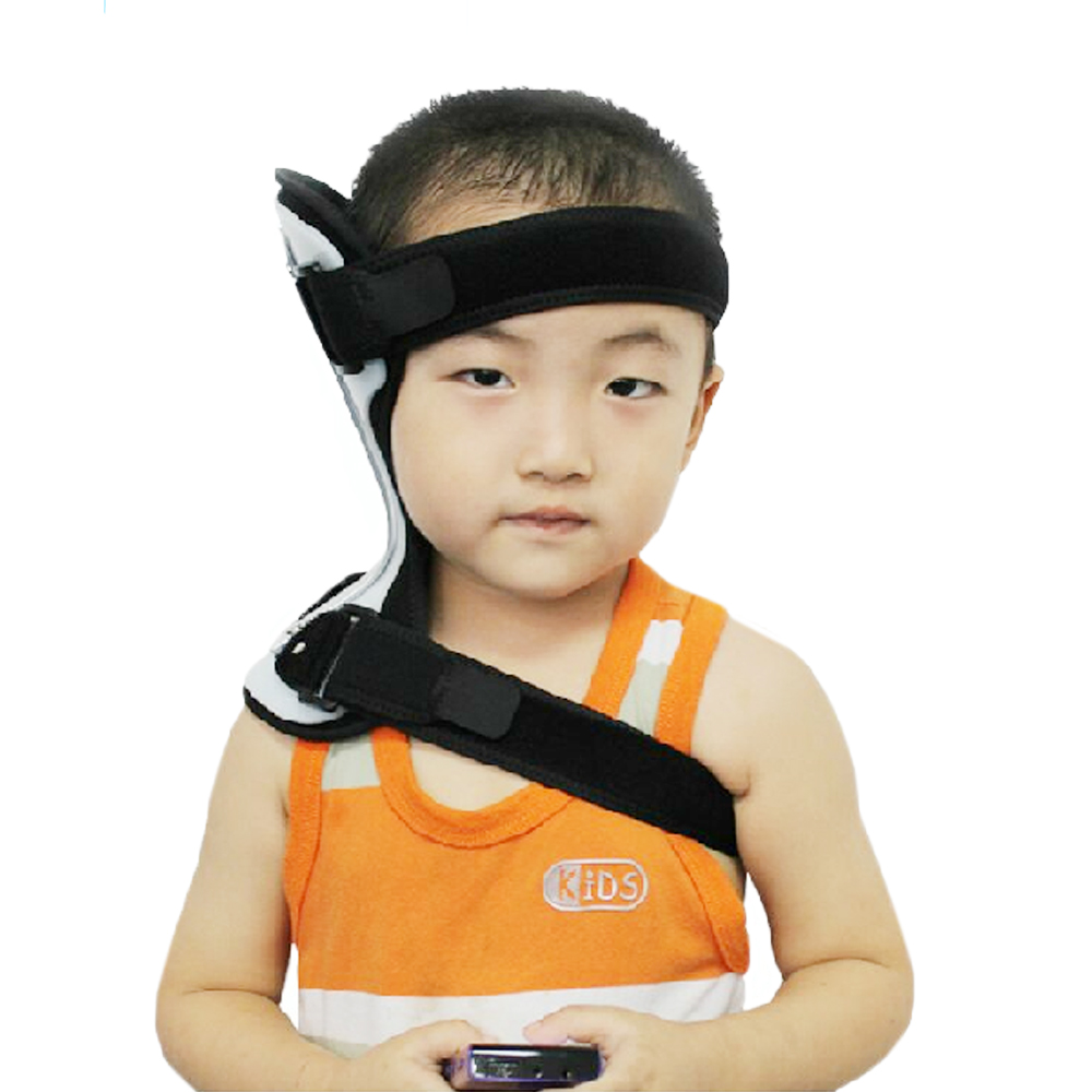 Child Neck Support Brace Corrector Neck Collar Torticollis Orthotics Universal Size