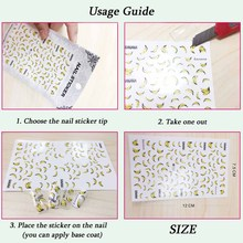 1 Sheet Embossed 3D Nail Stickers Blooming Flower 3D Nail Art Stickers Decals Adhesive Manicure Nail Art Tips Decoration SAF199