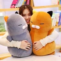 Cat Stuffed Animal Cat Sleeping Doll Kawaii Cartoon Plush Toys Kids Present Toys Children Baby Birthday Gift