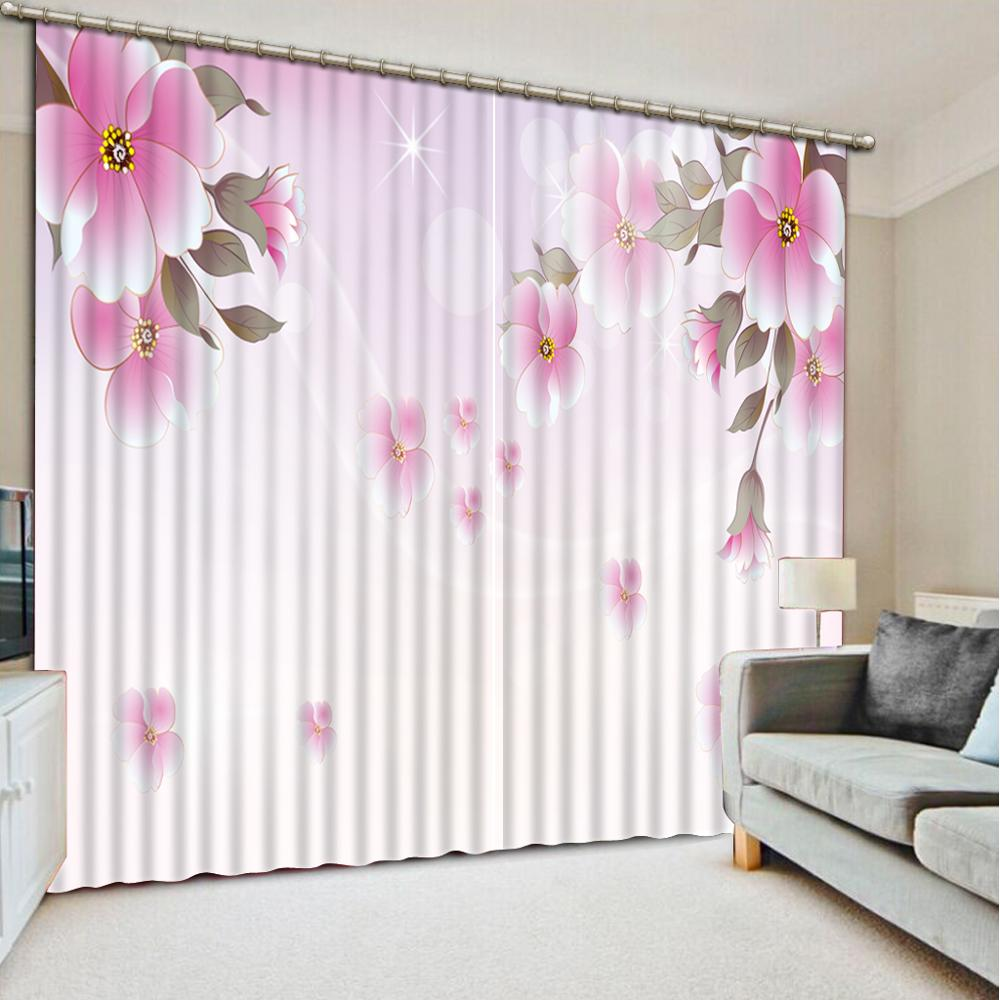 customize Simple flower curtains for living room bedroom windows high quality curtaincustomize Simple flower curtains for living room bedroom windows high quality curtain