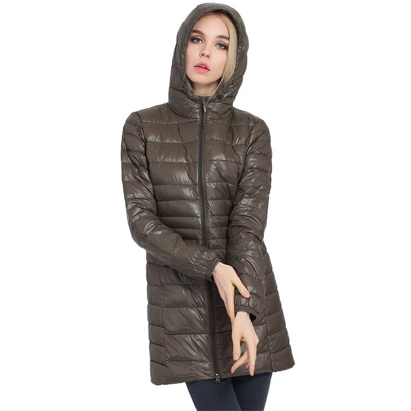 Women mink fur long chic outwear parka coats Jacket winter celebrity M-8XL Lady
