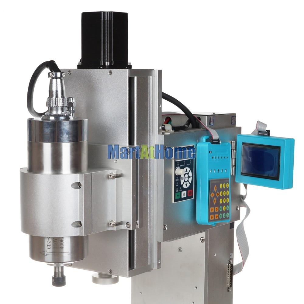 Tavolo per macchina da incisione CNC ad alta precisione 1.5KW 3 assi - Attrezzature per la lavorazione del legno - Fotografia 4