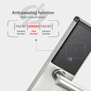 Image 4 - 電子ドアロック、スマート Bluetooth デジタルアプリ Wifi キーパッドコードキーレスドアロック、パスワードキーレスドアロック