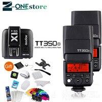 2x Godox Мини Вспышка Godox TT350S 2,4G ttl высокоскоростная камера вспышка + X1T S передатчик для sony A7 A7R A7R II A6000 A6500