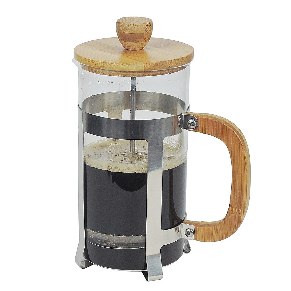 French Press Coffee Maker Pot with Wood handle 2 Cup 3Cup 4Cup 12oz 20oz 27oz 350ml 600ml 800ml in Coffee Pots from Home Garden
