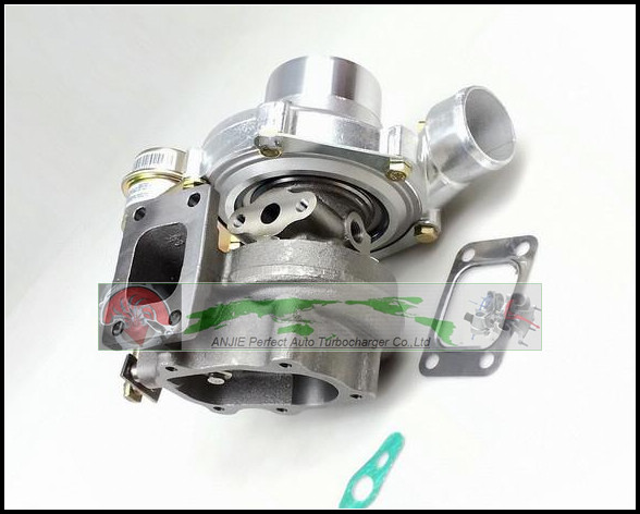 GT2860 Oil Cooled Turbo Compressor AR 0.60 Turbine AR 0.64 Turbocharger For NISSAN S13 S14 S15 CA18DET T25 5 BOLT 400HP gaskets free ship gt2860 oil cool turbine compressor ar 0 60 turbo 0 64 turbocharger for nissan s13 s14 s15 ca18det t25 400hp 5 bolt