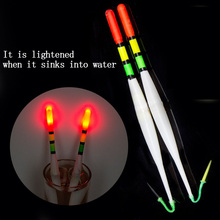 1pcs glow rod stick foam fishing floats chemical light fishing floats fishing accesorios pesca light stick FF02