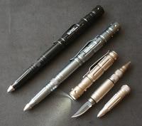 QSHOICของขวัญปากกาผู้ผลิตโดยตรงหลายฟังก์ชั่นปากกาป้องกันLEDป้องกันปากกาด้วยมี