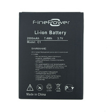 In Stock NEW 100% Original Battery Replacement For FinePower C1, Fine Power C1, C 1 Smart Phone + Tracking Number evl32 060d evl32 055 original power modules in stock