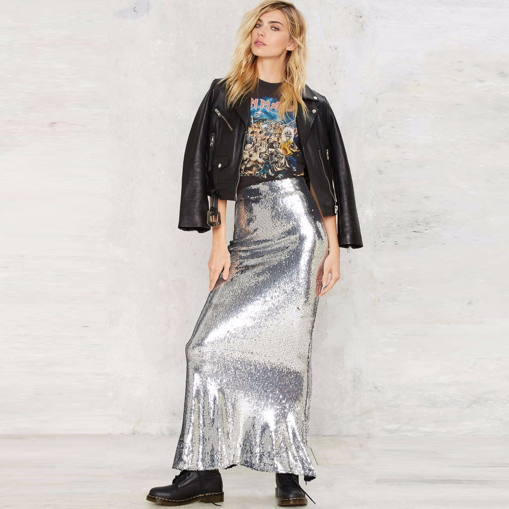 907b7593b7d Compare Prices on Silver Sequin Maxi Skirt- Online Shopping Buy .