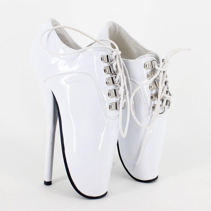Gran 18 Ballet Alto Zapatos Bdsm Cm Bombas Tacón De Sexy qaB7zqHw